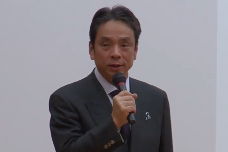 【ブルーリボンキャラバン~もっと知ってほしい大腸がんのこと2019in東京】「開会挨拶」植竹 宏之