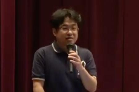 【ブルーリボンキャラバン~もっと知ってほしい大腸がんのこと2019in倉敷】「大腸がんってどんな病気?」永坂 岳司