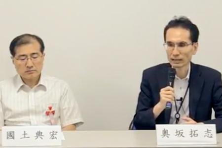 ジャパンキャンサーフォーラム2018 國土 典宏先生と奥坂 拓志先生